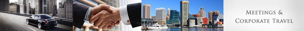 Corporate Transportation in Baltimore & BWI, and Washington, DC